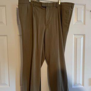 Men's Cuffed Docker Dress Pants Size W44xL30